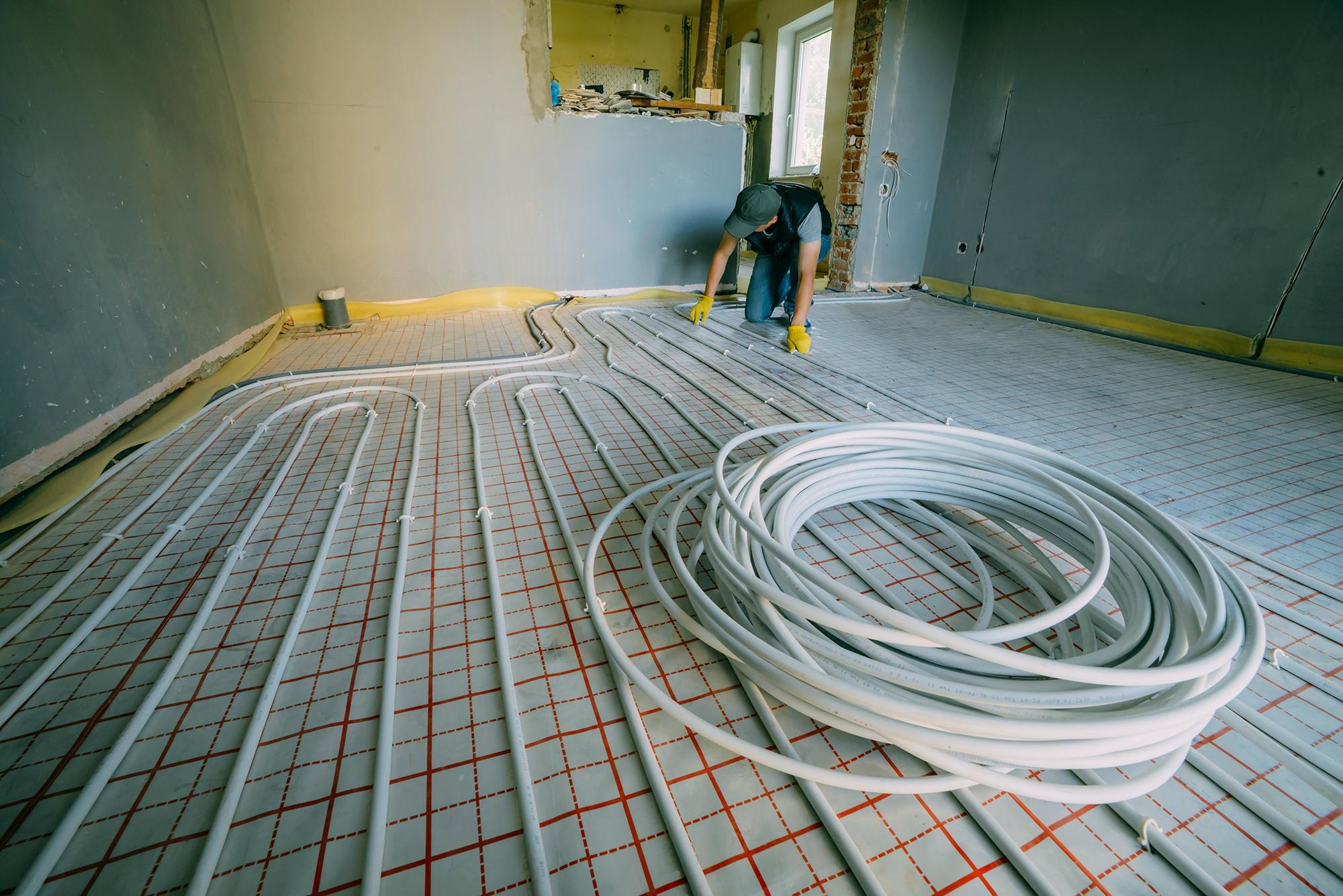 Henry Sanitär & Heizung - Fußbodenheizung